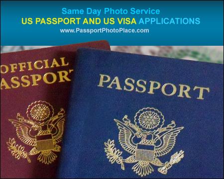 United States passport and visa photo service